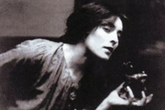 Mina Loy:Poet, radical; also known for her hats and the flies she wore as earrings