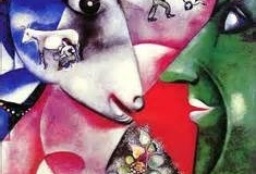 Marc Chagall, I and the Village: Watch the boundaries blur